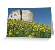Cliffords Tower York Greeting Card