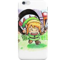 Run Link run iPhone Case/Skin