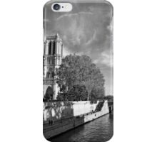Notre Dame and the River Seine iPhone Case/Skin