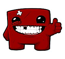 Super Meat Boy  Photographic Print