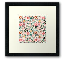 Light Flowers Framed Print