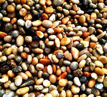 Chesil Beach Pebbles by sammiejayjay