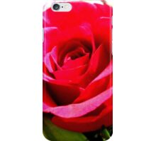 Cerise Pink Rose iPhone Case/Skin