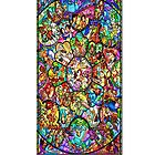 Colourful Disney Stained Glass Character Art Window Church by MagicCase