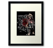Straw Hats Framed Print