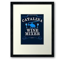 The Catalina Wine Mixer Framed Print