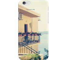 Apartment at the sea iPhone Case/Skin