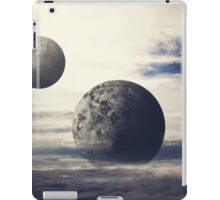 Surreal Moons In Bright Sky  iPad Case/Skin
