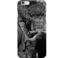 the Fountain of the Four Rivers in Rome iPhone Case/Skin
