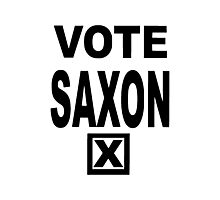 Vote Saxon Photographic Print