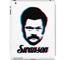 Ron Swanson - 3D iPad Case/Skin
