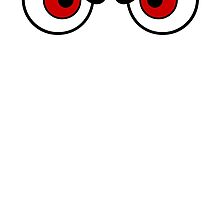 Angry Eyes - Red by cpotter