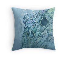 Willy Whisk Throw Pillow