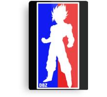 Goku Sport Logo Metal Print
