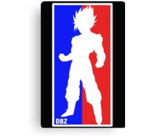Goku Sport Logo Canvas Print