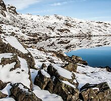 Stickle Tarn Winters Scene by Gary Kenyon