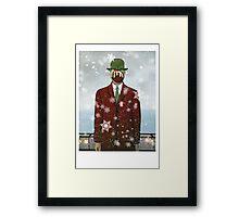 The Christmas Son of Man Framed Print