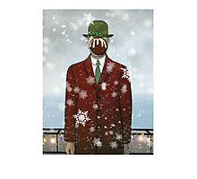 The Christmas Son of Man Photographic Print