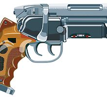 Blade Runner Blaster by davidyarb