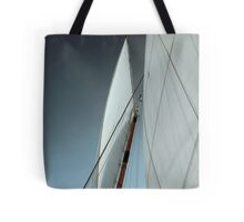 Thinking in Threes Tote Bag