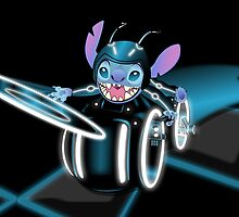 Tron Stitch by Michael Donnellan