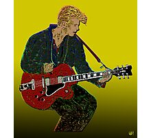 Bowie Guitar 2 Photographic Print