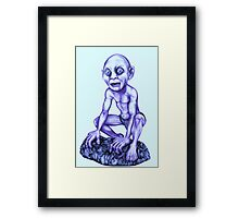 Gollum - Lord of the Rings Framed Print