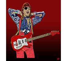 Bowie Guitar 3 Photographic Print