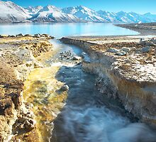 Lake Pukaki Cold by Neil