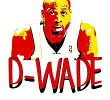 D-WADE Stencil Design by nbatextile