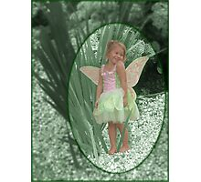 Magical Garden Pixie Photographic Print