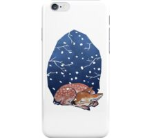 Sleeping Fawn iPhone Case/Skin