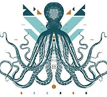 The Majestic Octopus by IKOGRAPHIK