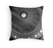St. Peter's Dome, Rome Throw Pillow