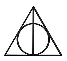 Harry Potter Deathly Hallows symbol Photographic Print