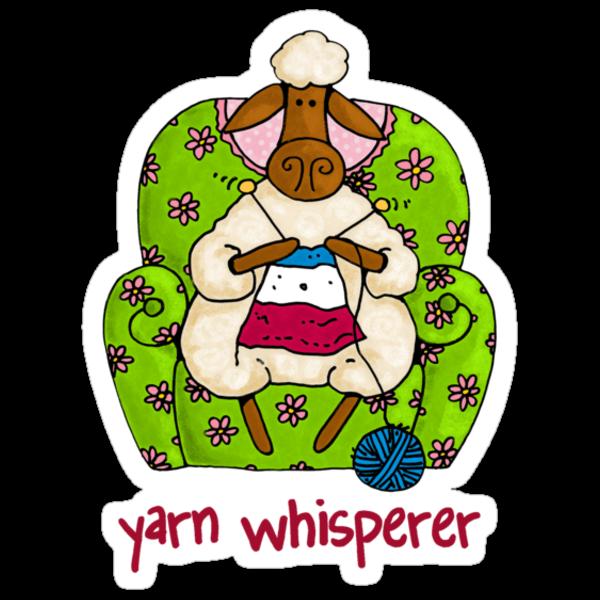 Yarn whisperer by Corrie Kuipers