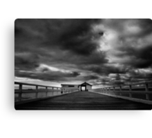 Queenscliff Pier Canvas Print