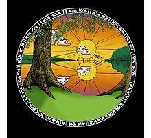 Celtic Porthole Photographic Print