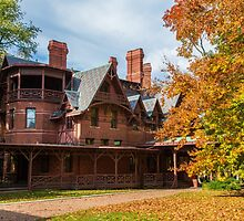 USA. Connecticut. Hartford. Mark Twain House & Museum. by vadim19
