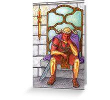 Demon King Greeting Card