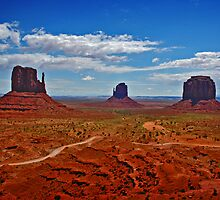 Monument Valley, Arizona. by Melinda Kerr