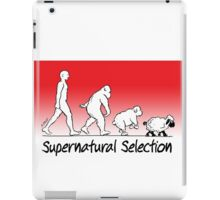 Supernatural Selection (on Light colors) iPad Case/Skin