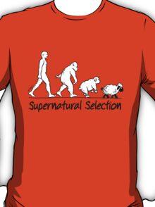 Supernatural Selection (on Light colors) T-Shirt