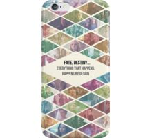 "Once Upon a Time - ""Everything Happens By Design"" Ensemble cast iPhone Case/Skin"