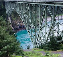 Deception Pass Bridge  by Marie  Cardona