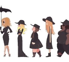 American Horror Story Coven by kennedyolson20
