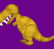 Dinosaur T-Rex Tyrannosaurus Rex by Muck959