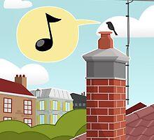 Chimney Singer by pencilfury