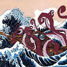 20,000 Leagues Under Kanagawa by Kaelie Rush