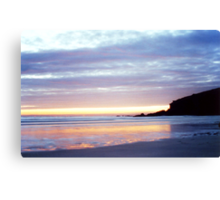 Polurrian Sunset (1) Canvas Print